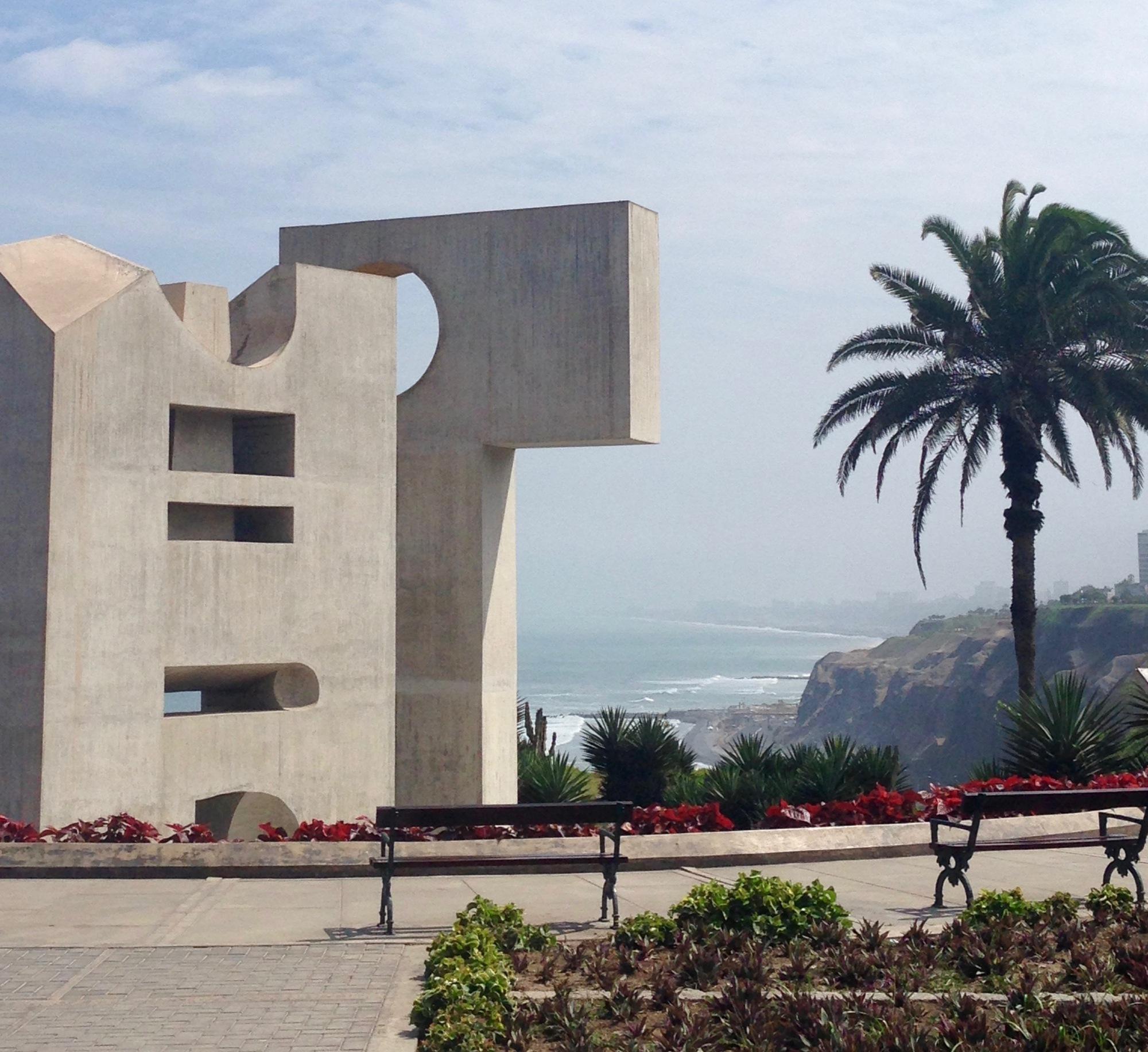 Statue in Miraflores, Lima Peru