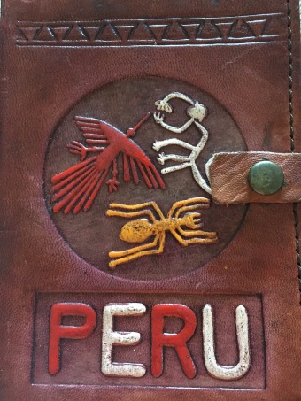 My Peru leather journal