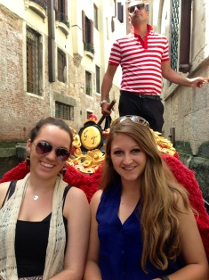 "With our ""gondola guy"""