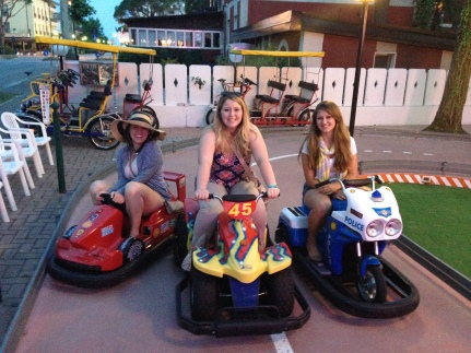 Go Karting in Venice, Italy