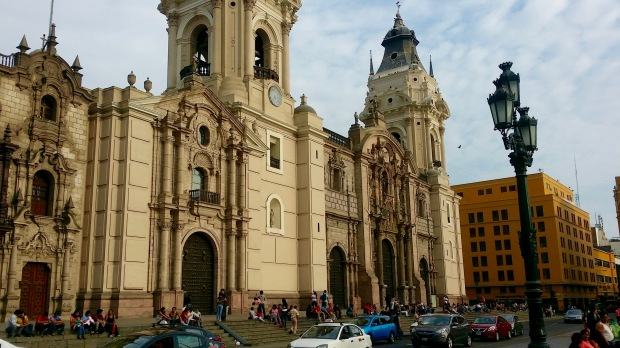 Government Palace and Plaza de Armas - Lima, Peru