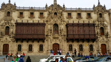Government Palace and Plaza de Armas - Lima, Peru