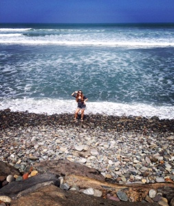 Beach Miraflores, Lima, Peru