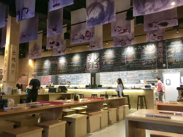 Sushi Bayashi in the Dallas Trinity Groves