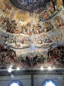 Inside the Duomo, Florence Cathedral, Italy