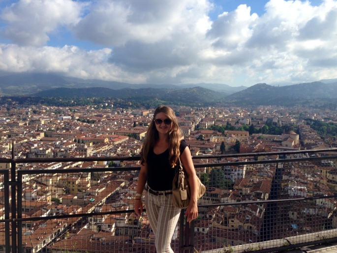 On top of the Duomo, Florence Cathedral, Italy