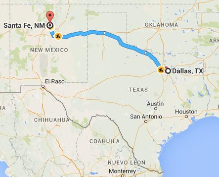 Road trip to Santa Fe, New Mexico