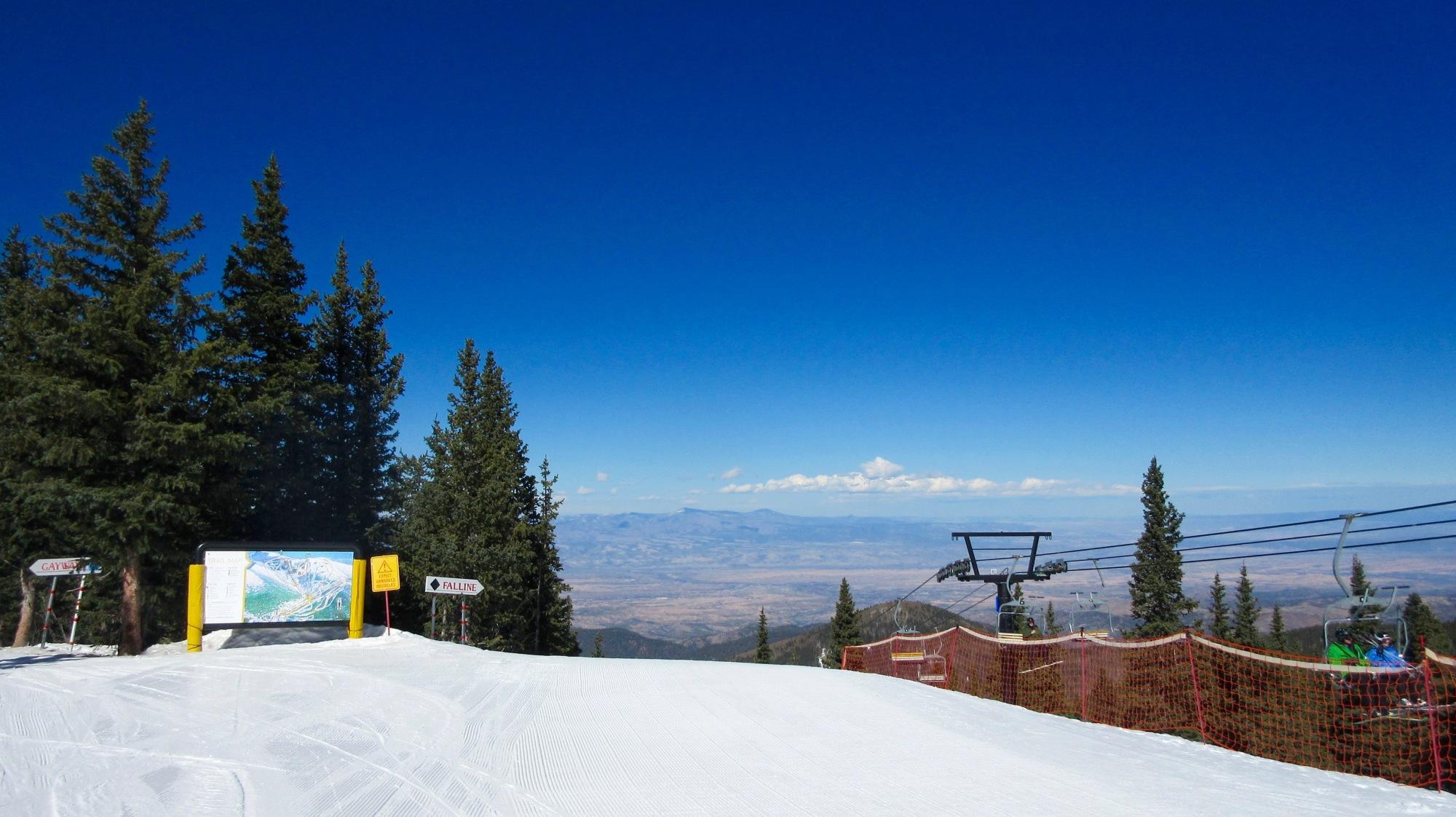 Ski Santa Fe, New Mexico
