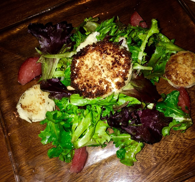 Warm Goat Cheese Salad