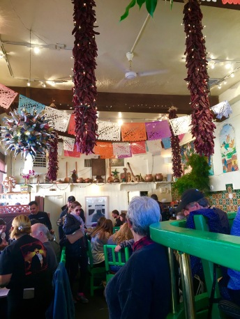 Cafe Pasqual's in Santa Fe, New Mexico