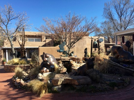 Galleries on Canyon Road Santa Fe, New Mexico