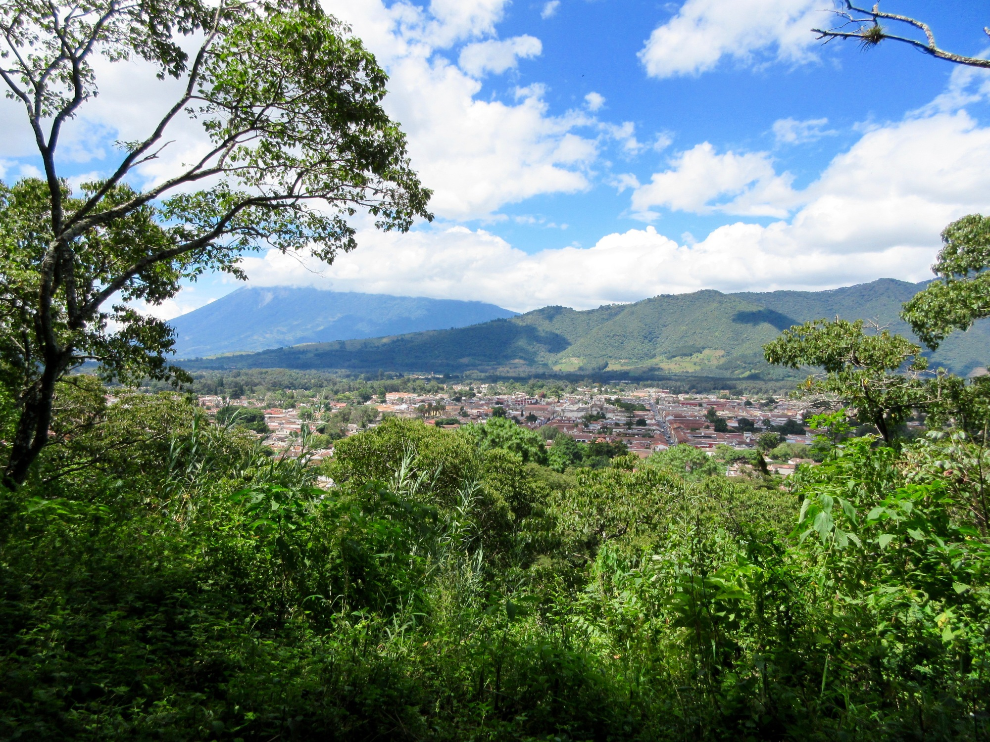View of Antigua, Guatemala