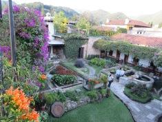 Rooftop coffee spot in Antigua, Guatemala