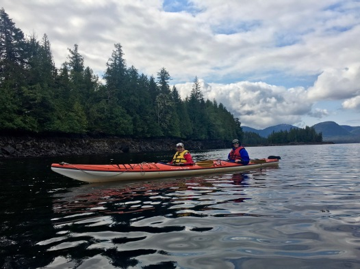 Kayaking in Ketchikan Alaska