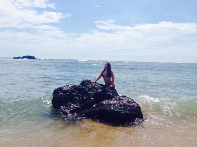 Channeling my inner mermaid in El Salvador