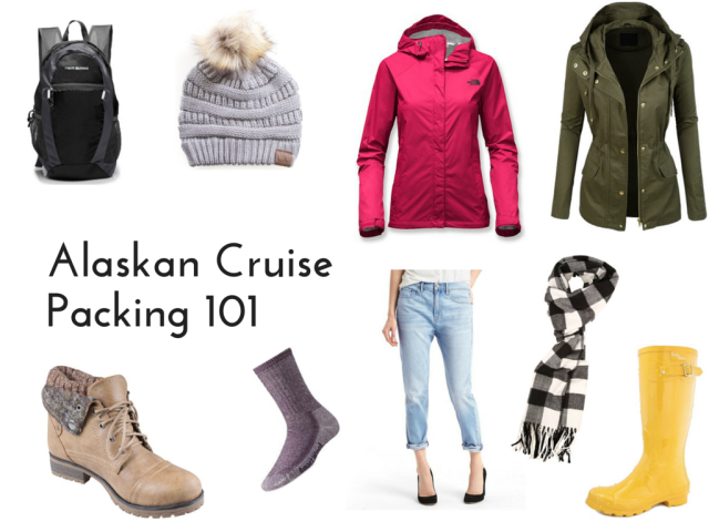 Packing for an Alaskan Cruise 101