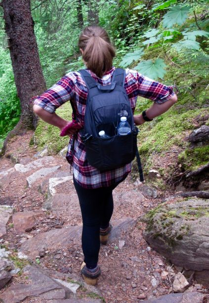 The most convenient way to carry stuff - a packable backapck