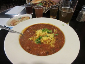 Lunch at the Skagway Brewing Company