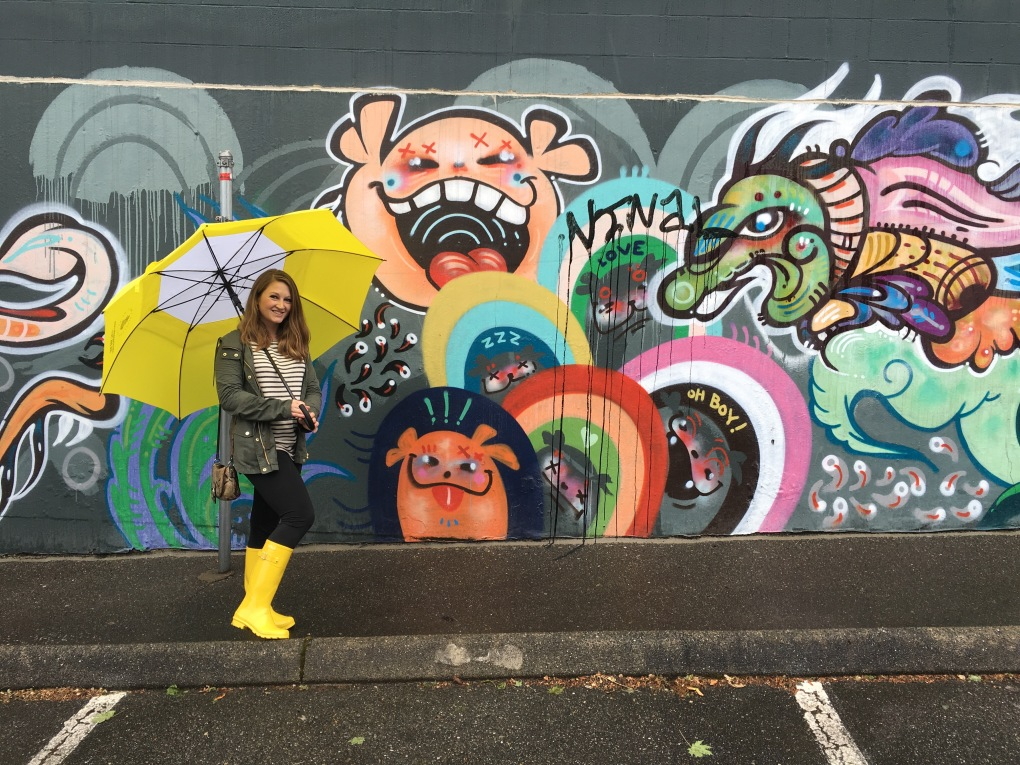 Graffiti wall in Seattle, Washington