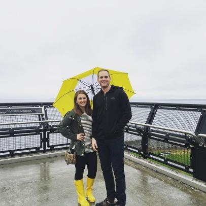 Staying dry in Seattle, Washington