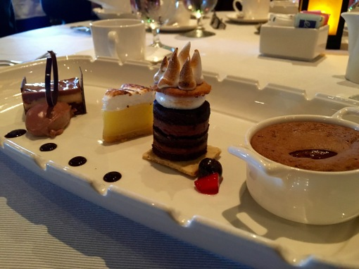 Desert at the Crown Grill on the Crown Princess Alaskan Cruise ship
