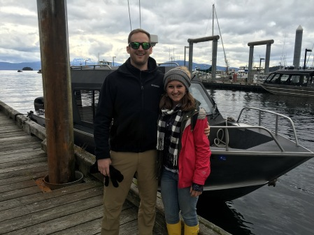 Whale watching with Harv and Marvs in Juneau, Alaska