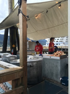 Tracys King Crab Shack in Juneau, Alaska