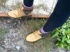 Hiking boots are the best!