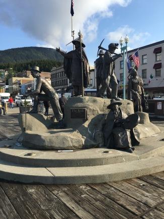 The Rock - A statue in Ketchikan, Alaska