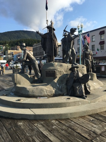 The Rock - A statue in Ketchikan, Alaska