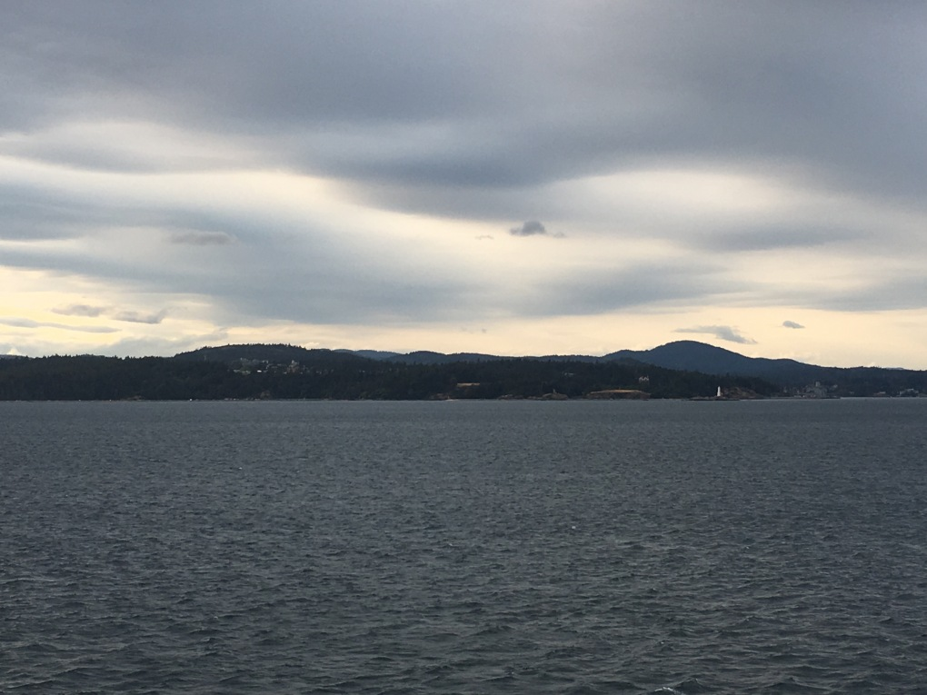 The view of Victoria, Canada from the Crown Princess cruise ship