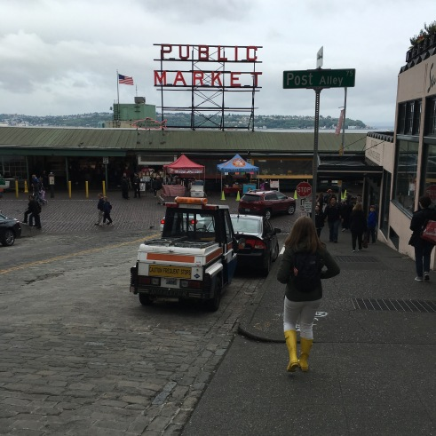 Pike Place Market in Seattle, Washington