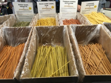 Pasta in Pike Place Market in Seattle, Washington