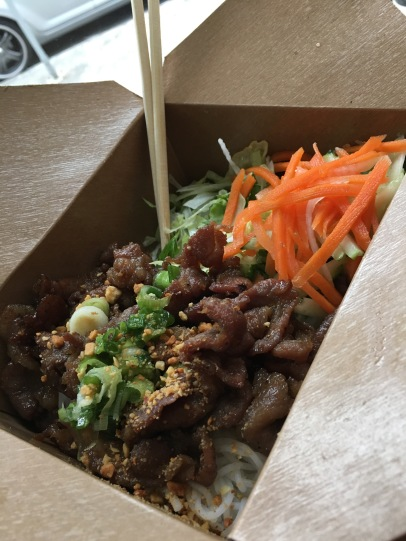 Pork Vermicelli in Seattle Washington
