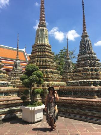 Statues at Wat Phra Kaew in Bangkok, Thailand