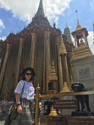 The Emerald Buddah at Wat Phra Kaew in Bangkok, Thailand