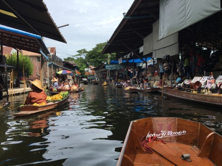 Damnoen Saduak floating market outside of Bangkok, Thailand