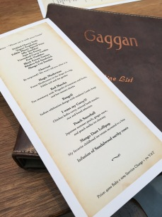 Eating at Gaggan in Bangkok, Thailand