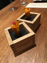Mango Uni Sundae at Gaggan in Bangkok, Thailand