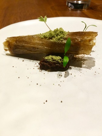 Magic Mushroom at Gaggan in Bangkok, Thailand
