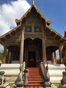 Temples in Chiang Mai, Thailand