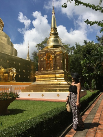 Wandering temples in Chiang Mai, Thailand