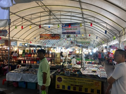 The night market in Chiang Mai, Thailand