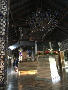 The lobby of The Slate hotel in Phuket, Thailand
