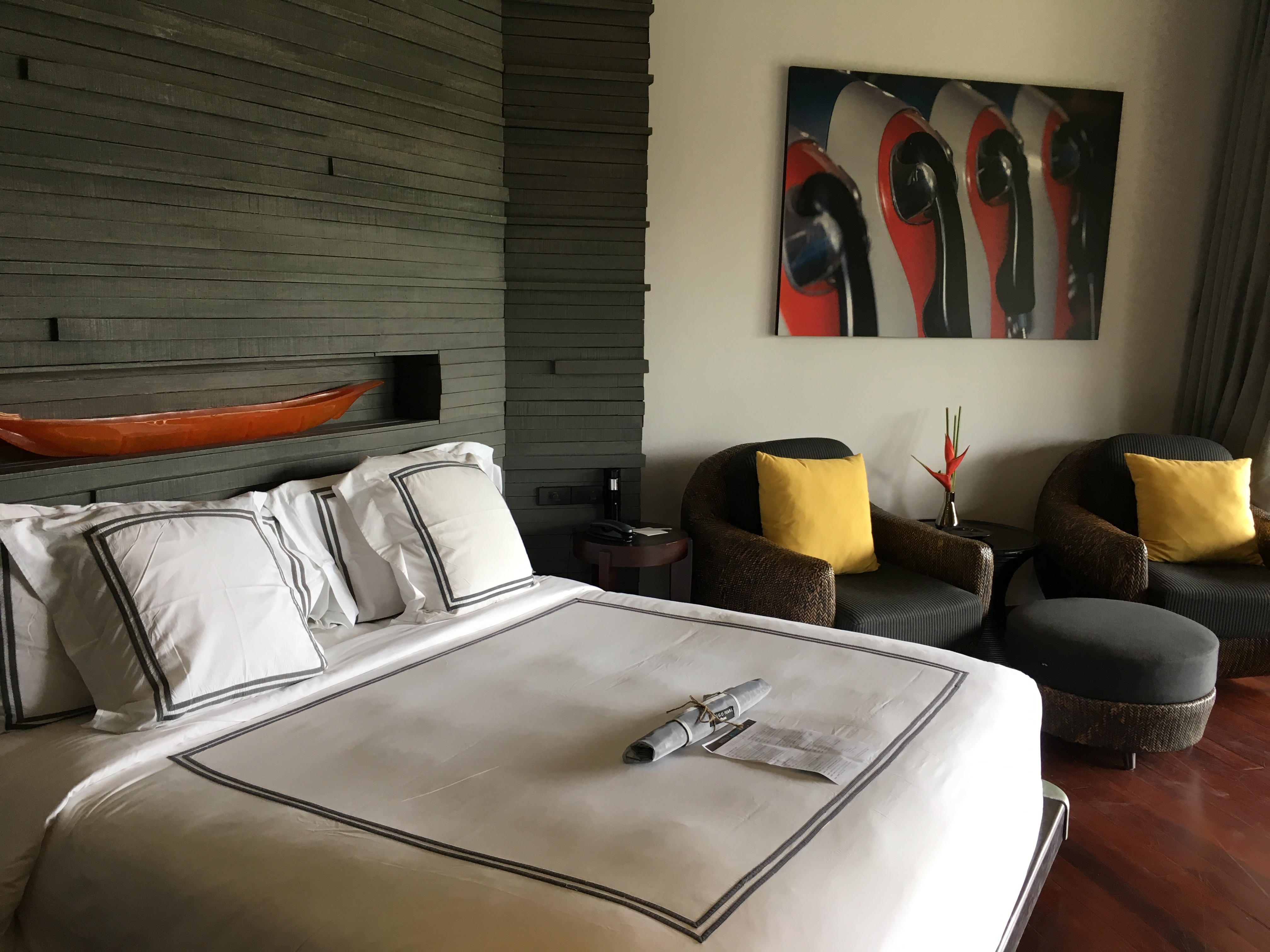 our room at the slate hotel in phuket, thailand – the impatient