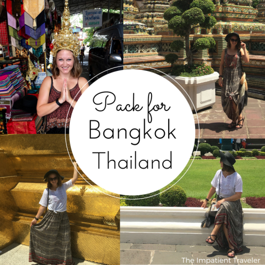 Bangkok Packing List