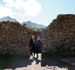 Ruins in the Sacred Valley, Peru