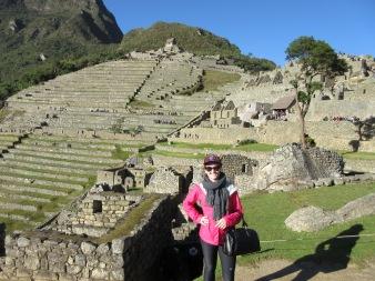 Atop Machu Picchu, Peru