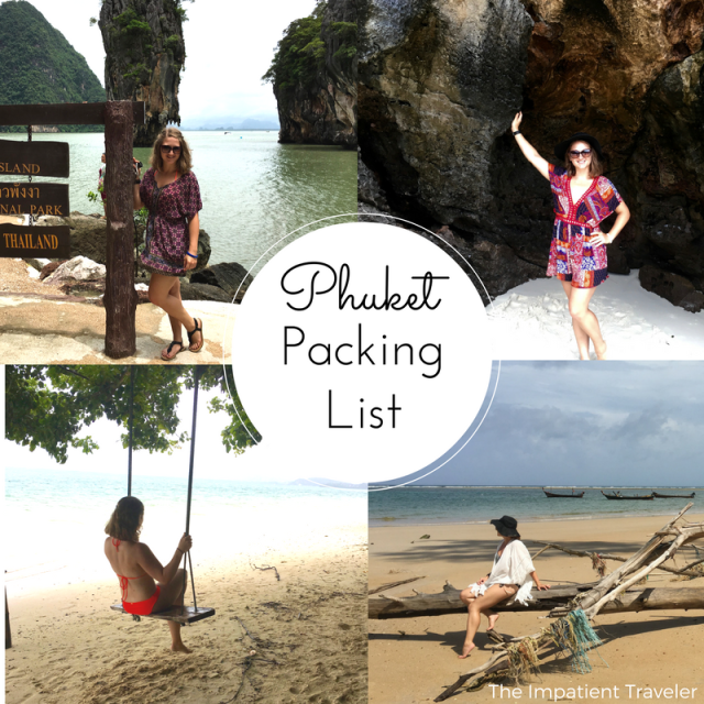 Phuket packing guide