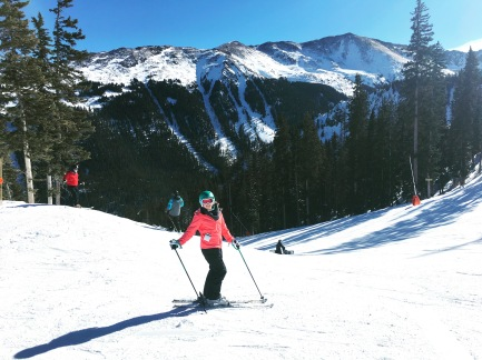 Skiing in Taos, New Mexico